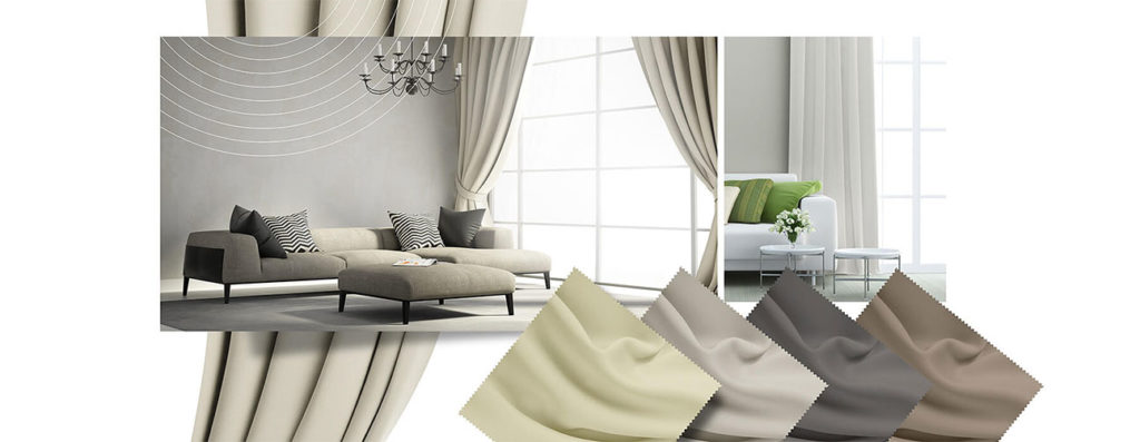 Tkanina zaciemniająca w sypialni