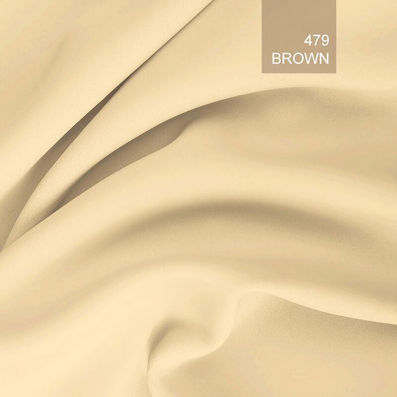 Tkanina zaciemniająca blackout brown479