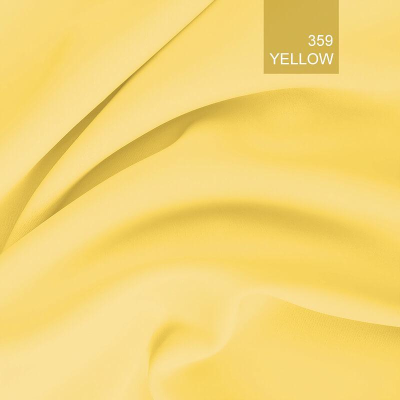 Tkanina zaciemniająca blackout yellow359