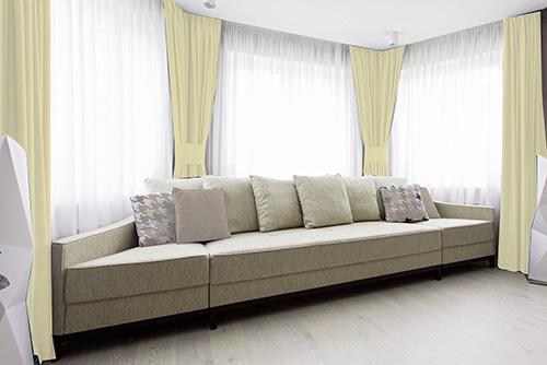 Tkanina zaciemniająca blackout beige137 zasłony salon