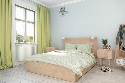 tkanina blackout green27 sypialnia zasłony