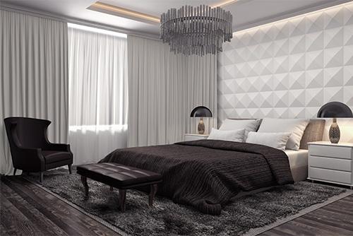 tkanina blackout grey412 zasłony do sypialni