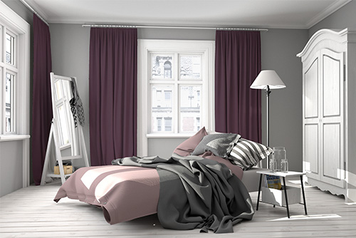 tkanina blackout purple452 zasłony