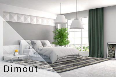 Blackout fabrics Dimout